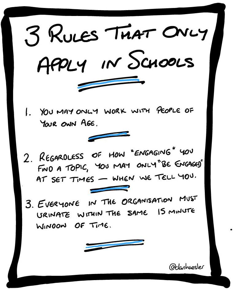 essay rules in school